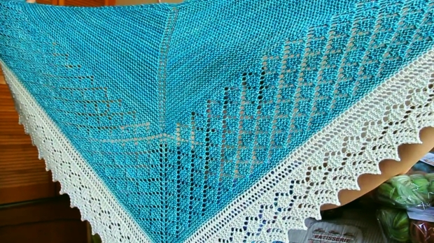 Lattice Shawl